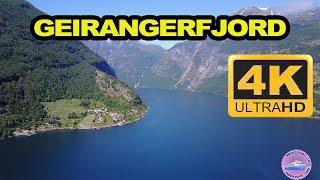 Geirangerfjord Norway - (4K)