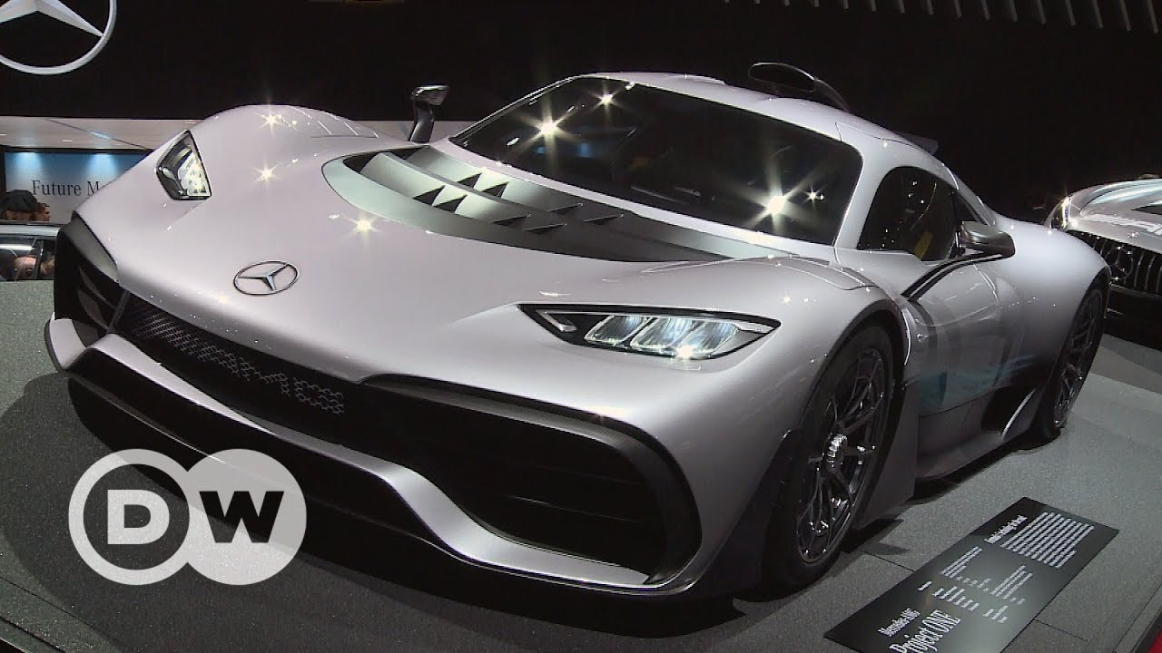 Look into the future: LA Auto Show 2017 | DW English