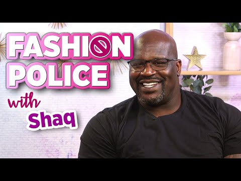 Shaquille O'Neal Relives His Most Memorable Style Moments in Fashion Police
