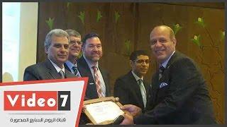 تكريم أعضاء هيئة التدريس الحاصلين على شهادت المدرب المحترف بجامعة القاهرة