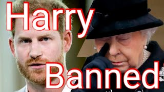 Queen Bans Prince Harry From Jubilee Celebration