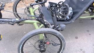 Unusual Quad / Reverse Trike Recumbant Bikes