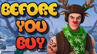 Red Nose Ranger Skin | Before You Buy | Fortnite Battle Royale