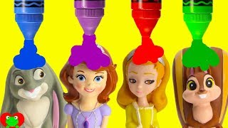 Disney Princess Sofia The First Learn Colors and Opposites