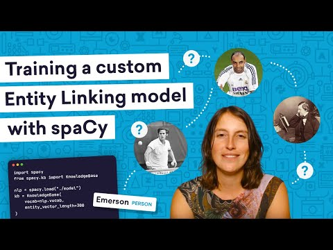 Training a custom ENTITY LINKING model with spaCy