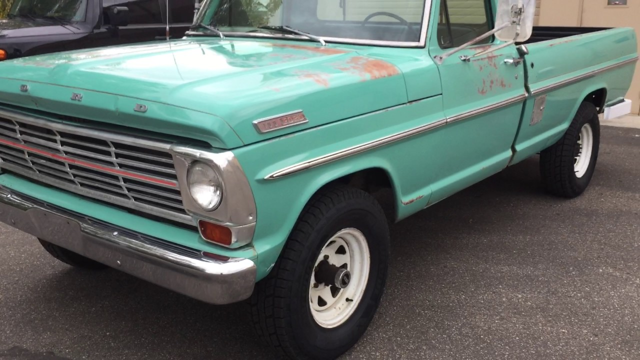 Test drive 1967 ford f100 4x4 sold
