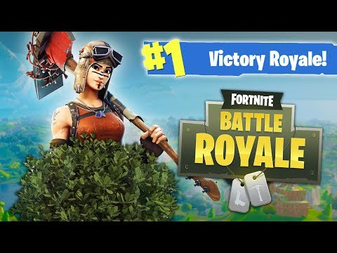 Fortnite Battle Royale - NEW BUSH UPDATE!! (Fortnite Battle Royale Multiplayer Gameplay)