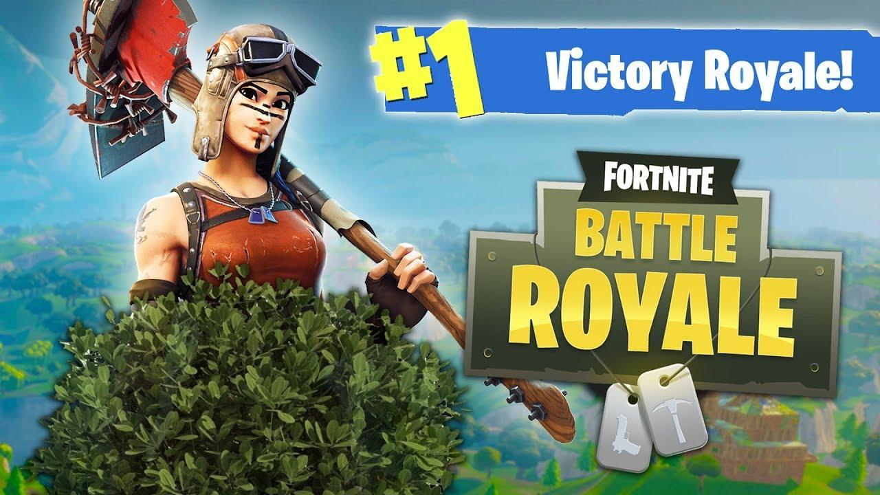 Fortnite Battle Royale - NEW BUSH UPDATE!! (Fortnite Battle