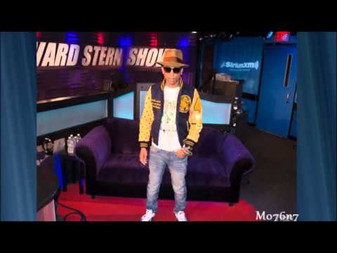 Howard Stern Show   Pharrell Williams 04 29 14