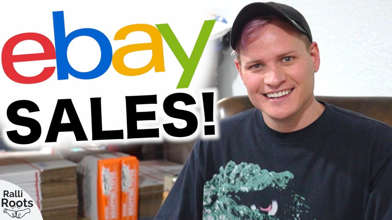$2,413 eBay Sales in 2 Days! What's Selling?
