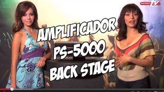Amplificador PS-5000 de Back Stage - Sensey TV