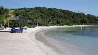 Shell Beach, Canouan Island in the Grenadines