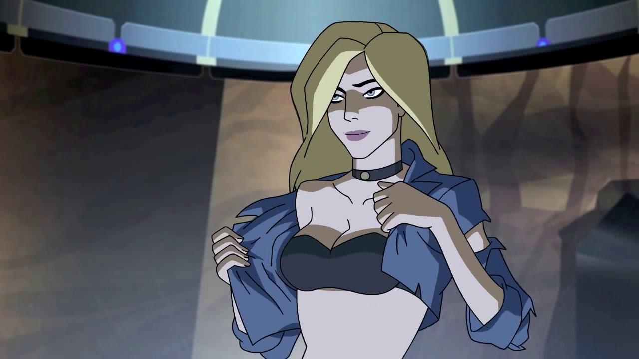 Excellent sexy hot naked black canary