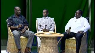 Hon Mass Axi Gai and Benjamin Roberts speak to broadcast journalist Malik Jones