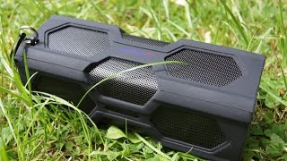 Expower Waterproof, Shockproof, Dustproof Rated IPX4 Bluetooth Speaker Unboxing/Tour