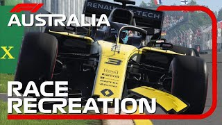 F1 2018 GAME: RECREATING THE 2019 AUSTRALIAN GP