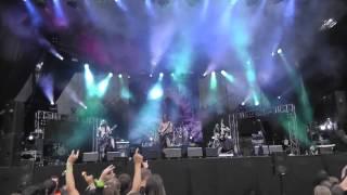 Ensiferum - Lai Lai Hei FULL HD (Live at Metalfest, Poland 2012)