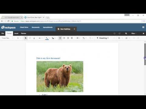 Rackspace Cloud Drive - Desktop Sync