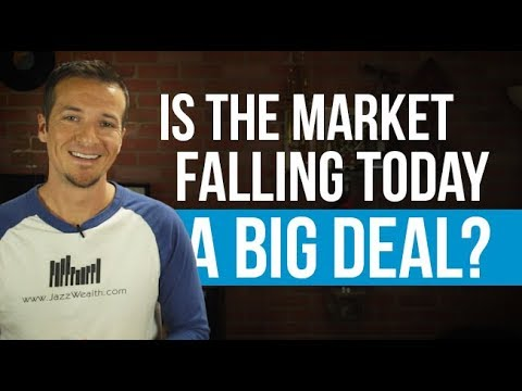 Does the market drop today really matter?