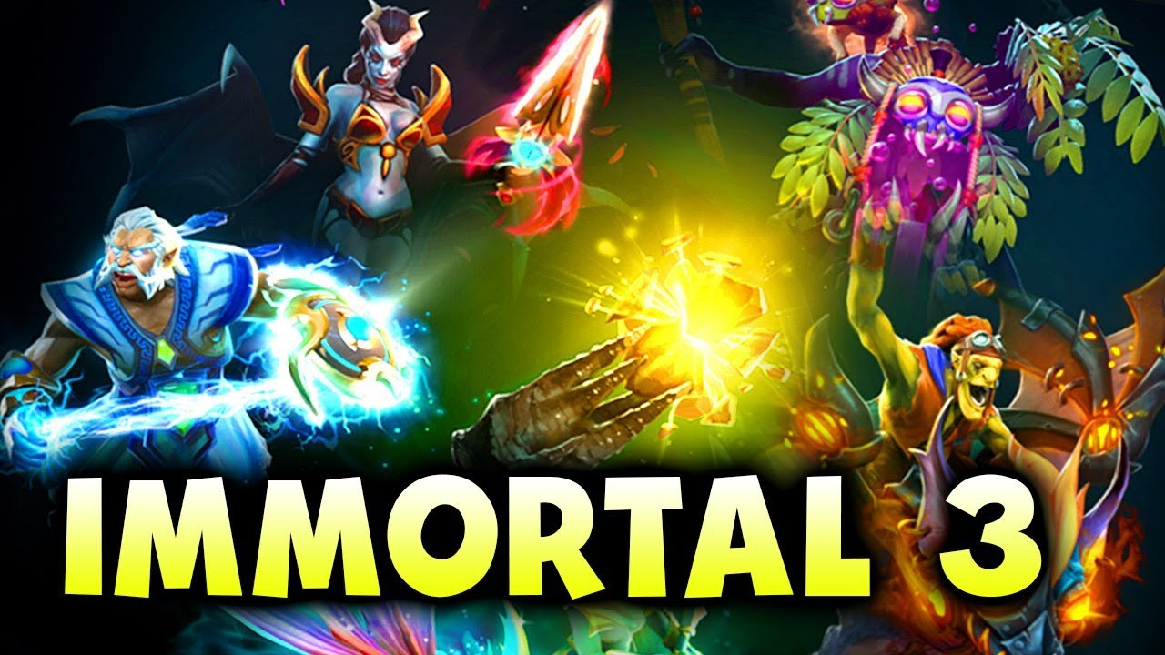 Dota 2 S Immortal Treasure 3 Launches
