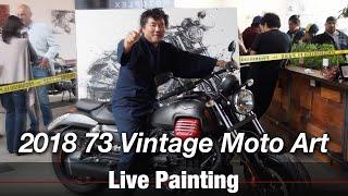 Motorcycle Art part 77 / 2018 73 Vintage Moto Art