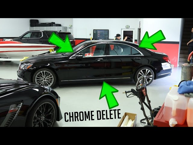What is a Chrome Delete? Watch this Time-lapse.