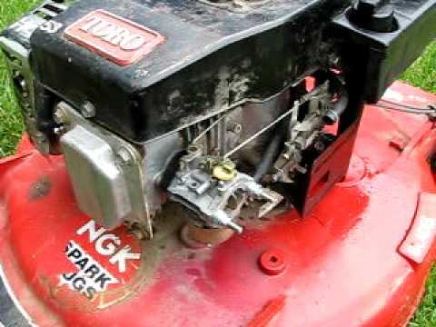 1989 Toro Lawnmower 20526C - YouTube