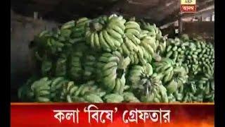 ABP Ananda news effect: 2 arrested on charges of riping banana by chemicals