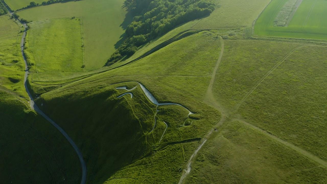 Uffington White Horse Hill   Neolithic Iron Age (4K)