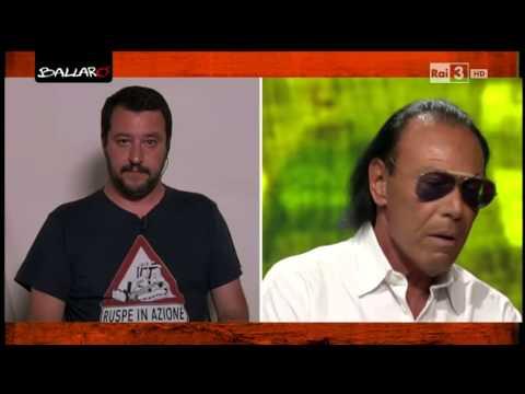 Scontro tra Salvini e Venditti sulla politica in Italia - Ballarò 02/06/2015