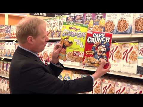 Cereal Box Psychology -- Cornell's Brian Wansink (Slim by Design)