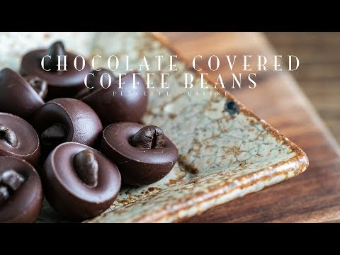 How To Make Chocolate Covered Espresso Beans At Home
