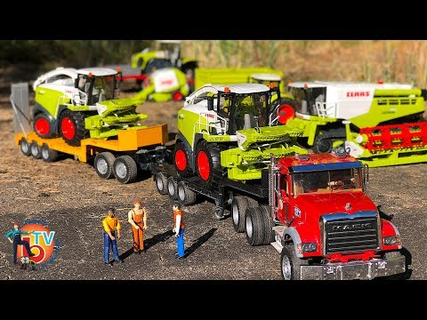 BRUDER Toys RC TRUCK Agro Farm Transport 2 CLAAS Jaguar 980 forage harvester