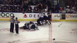 Jake McCabe Hit on Patrick Laine (Jets vs. Sabres)(2017)