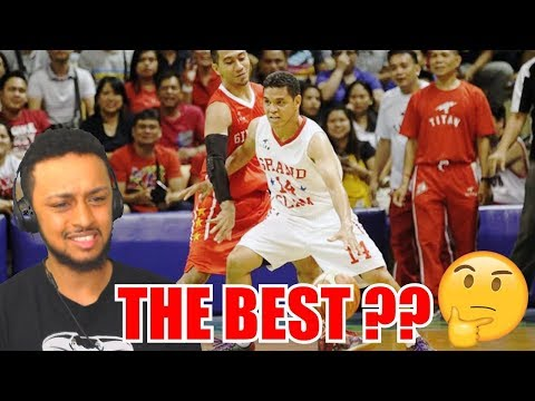 THE BEST GUARD EVER IN ASIA JOHNNY ABBARIENTOS HIGHLIGHT REACTION