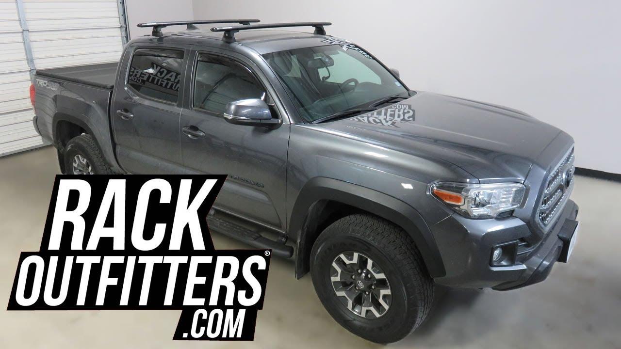 Toyota Tacoma Roof Rack Double Cab >> Toyota Tacoma Double Cab With Rhino Rack Vortex Rlt600 Roof Rack On Rts Tracks