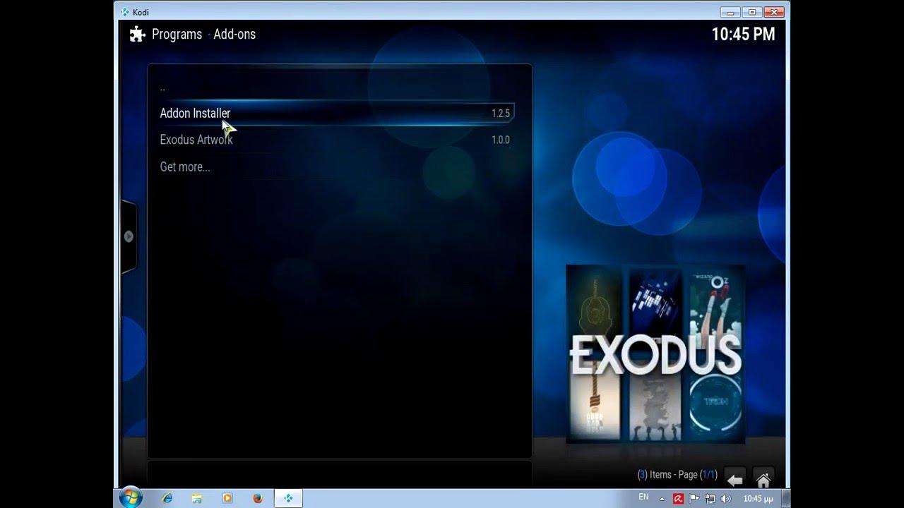 exodus kodi 16.1 apk
