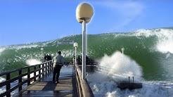 Orkan trifft Küste - Rerik November 1995 - Zeitgeschichte