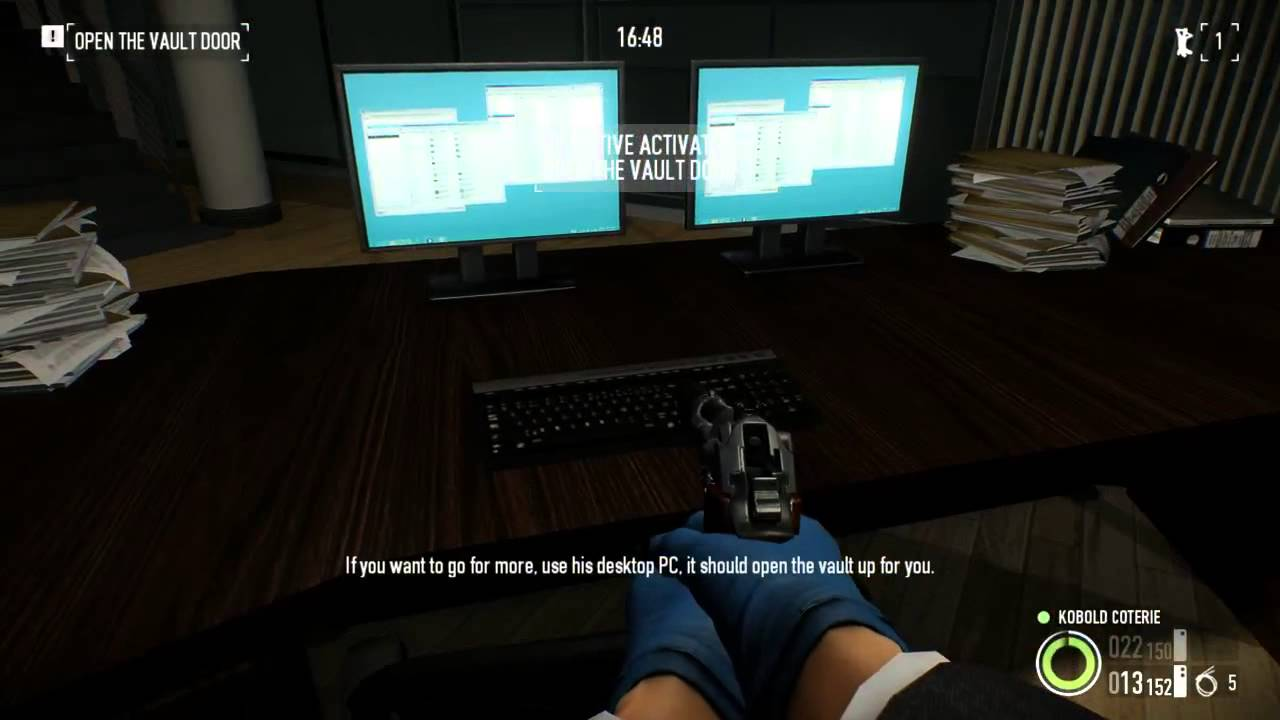 Payday 2 - Framing Frame, Day 3 - Stealth, Including Gold, Solo ...