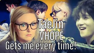 Nikkee's Reaction to - BTS TaeJin- Moments & Jealous Moments (Jin/Taehyung & VHOPE Moments Heartbeat