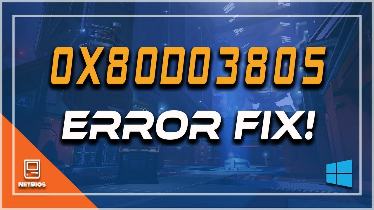 Fix Windows Store Error 0x80d03805 in windows 10/8-[5 Solutions]