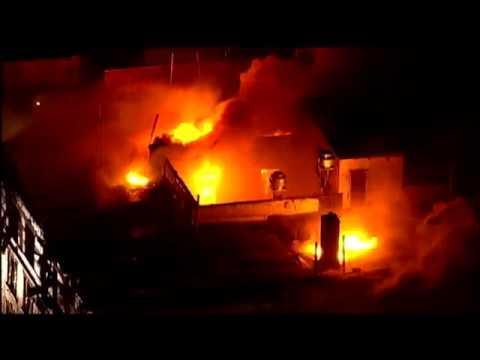 AERIAL VIDEO: Huge Fire Rages in Manhattan