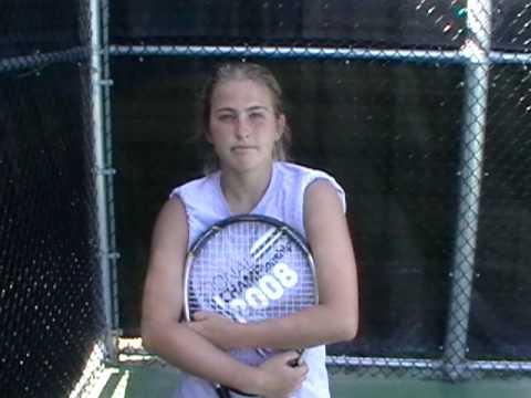 Bloomsburg University Women's Tennis Player Katie ...