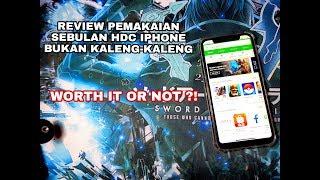 Review JUJUR 1 Bulan Pemakaian HDC IPHONE Bukan Kaleng-Kaleng REAL 4g, RAM 4GB/32GB dari China