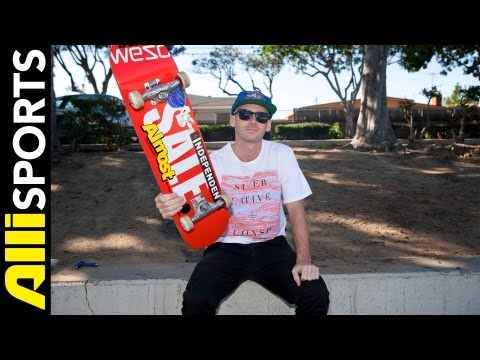 Cooper Wilt's Almost Skateboard, Independent Trucks, OJ Wheels Setup, Alli Sports