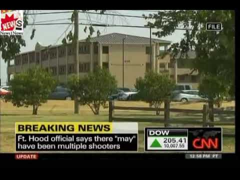 Breaking News  Mass Shooting At Fort Hood, Texas At Least 12 Dead 31 injured
