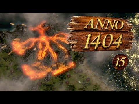 Anno 1404 Ep 15 - Volcano Erupts! |
