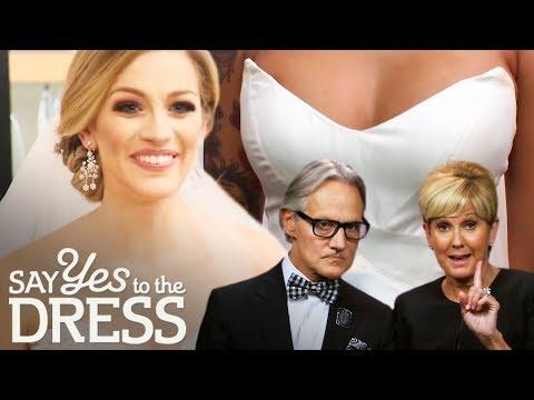 Monte & Lori's Most Impressive Wedding Dress Picks | Say Yes To The Dress Atlanta