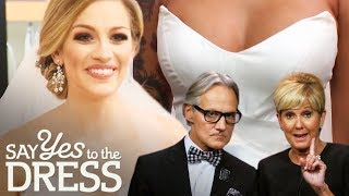 Monte & Lori's Most Impressive Wedding Dress Picks | Say Yes To The Dress Atlanta
