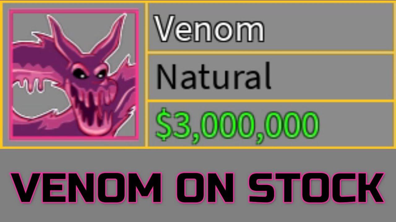 When Venom fruit is finally on stock!